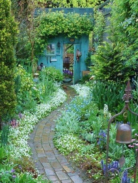 Titokzatos kert illat