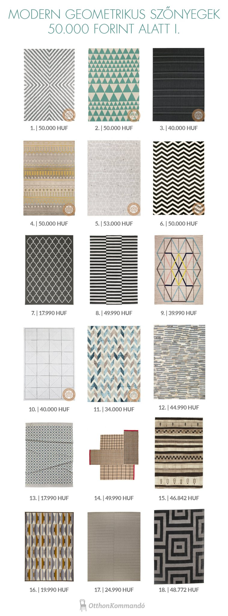 Geometrikus szőnyeg